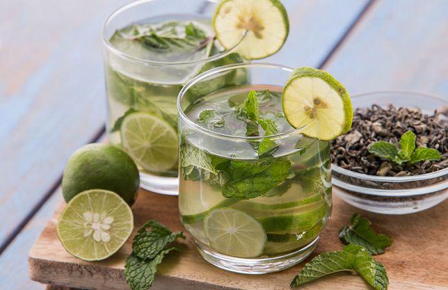 Zielona herbata parzona na zimno