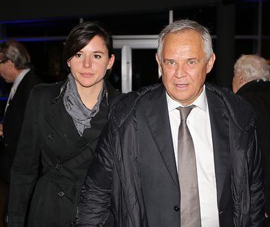 Marek Kondrat i Antonina Turnau mają dziecko. Teraz płeć zdradził dziadek