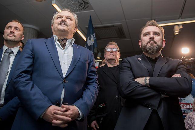 Marek Jakubiak i Pior Liroy-Marzec budują nową partię. Kukiz postawił im warunek
