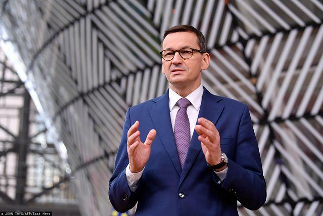 Sondaż zaufania - liderem premier Mateusz Morawiecki