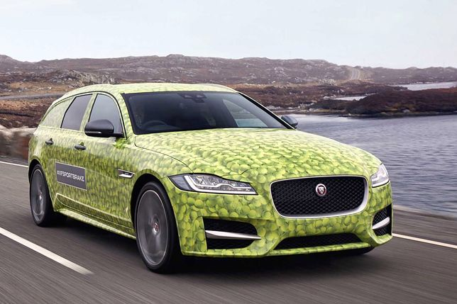 Nowy Jaguar XF Sportbrake zostanie zaprezentowany przez Andy'ego Murraya