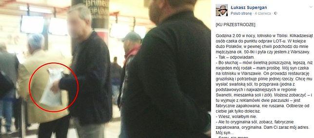 Polak wracał z Gruzji do Warszawy. Ta historia z lotniska mogła zniszczyć jego życie