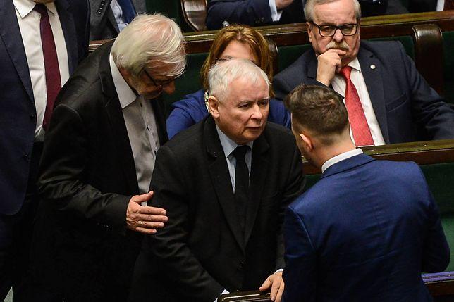 Posłowie PiS nie posłuchali prezesa Kaczyńskiego?