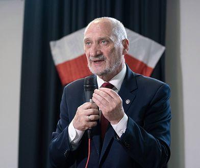 Antoni Macierewicz zabrał głos w cotygodniowym felietonie na antenie Radia Maryja i TV Trwam