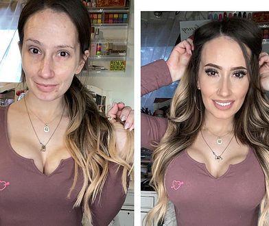 Niesamowita metamorfoza! Makijaż sprawia, że wygląda jak milion dolarów
