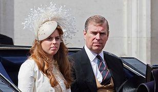Księżniczka Beatrycze i książę Andrzej. Dziś córka nie chce być kojarzona z ojcem
