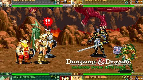 Stare beat'em upy Dungeons & Dragons zostają wyciągnięte z lamusa i trafią do cyfrowej dystrybucji