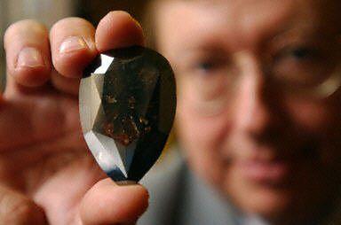 Vulcain, największy czarny diament