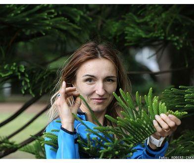 Violetta Domaradzka – biegająca weganka. Kobieta z pasją, miłośniczka maratonów i dobrego jedzenia.