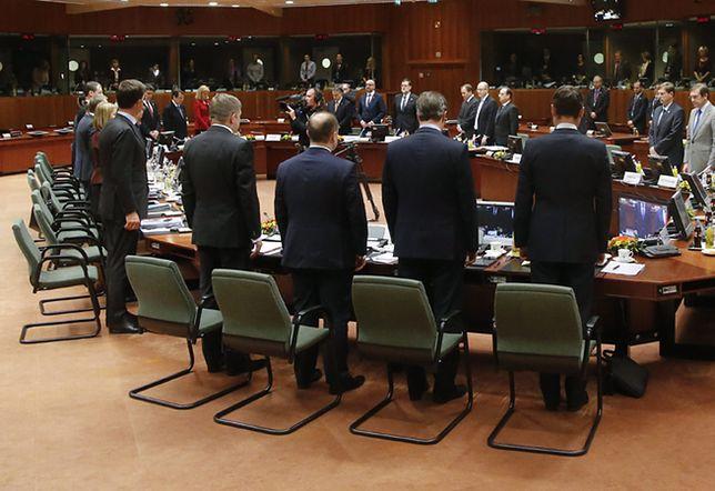 Szczyt UE rozpoczął się minutą ciszy