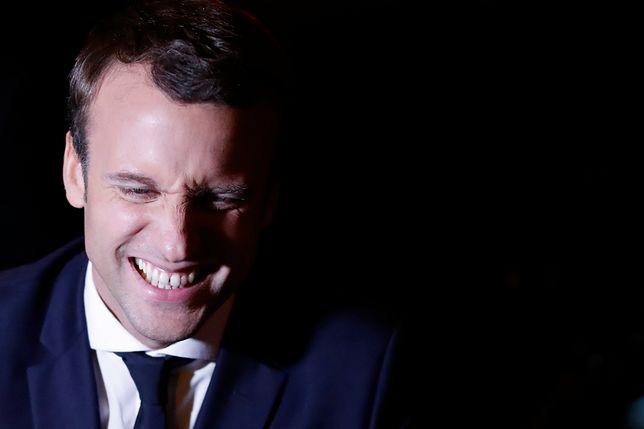 Macron pozostaje przy swoim. Znów wymienia Kaczyńskiego w towarzystwie Le Pen i Putina