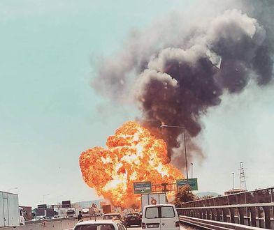 Kula ognia pod Bolonią. Eksplodowała cysterna
