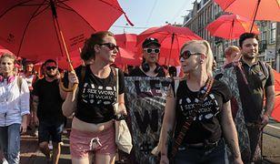 Protest pracowników seksualnych w Amsterdamie