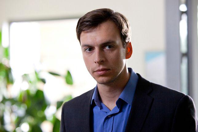 """Ksawery Szlenkier w serialu """"Wiadomości z Drugiej Reki"""""""