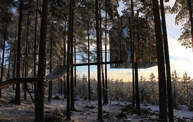 Tree Hotel, Szwecja