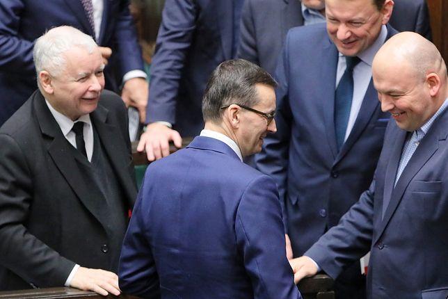 Na sali był obecny Jarosław Kaczyński