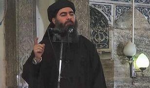 """Lider ISIS Abu Bakr al-Bagdadi w nagraniu obiecał swoim wytrwałym zwolennikom """"radosną nowinę"""""""