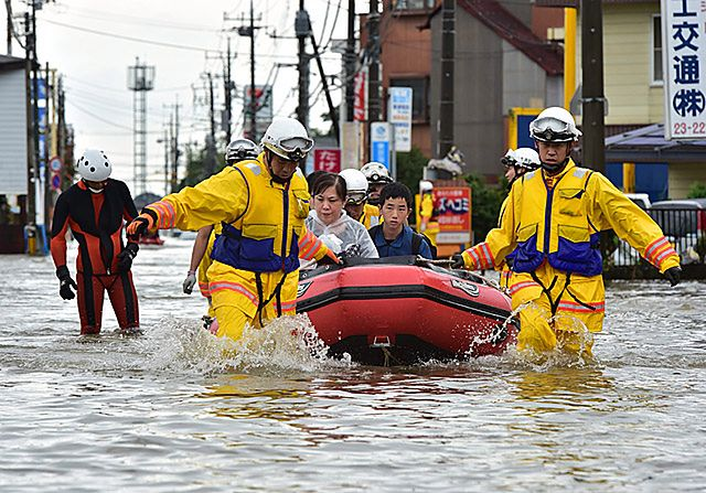 Katastrofalne ulewy w Japonii. Najgorszy potop od 60 lat