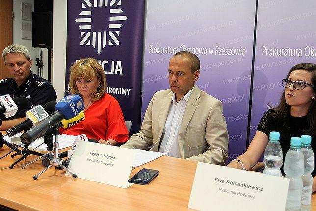 Konferencja prokuratury w Rzeszowie