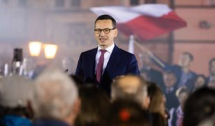 Premier Mateusz Morawiecki mocno zaangażował się w kampanię