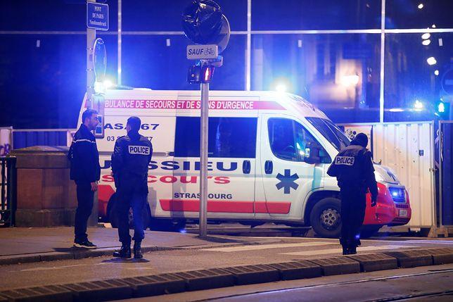 Strzały w centrum Strasburga. Co najmniej cztery osoby nie żyją, 11 jest rannych