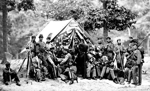 Żołnierze z wojny secesyjnej