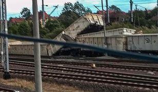 Dolny Śląsk. W Malczycach wykoleił się pociąg towarowy