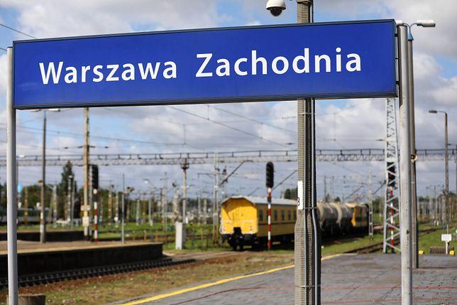Warszawa. Remont stacji Warszawa Zachodnia wchodzi w kolejny etap