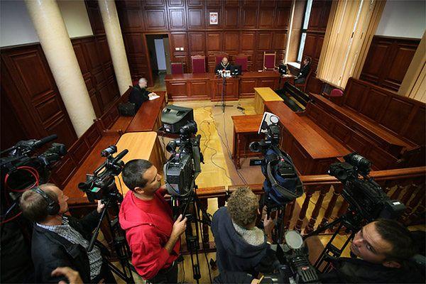 Większość rozpraw odbywa się bez kamer telewizyjnych i publiczności