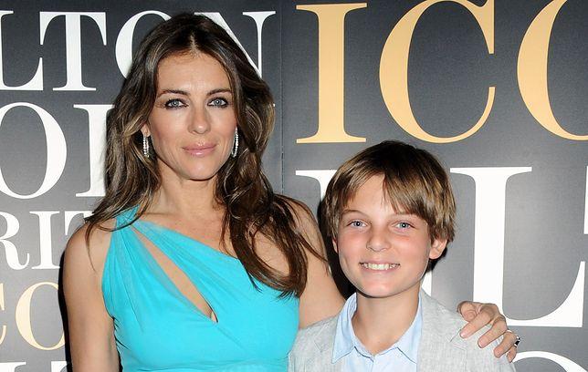 Elizabeth Hurley ma 17-letniego syna. Damian wygląda jak jej kopia