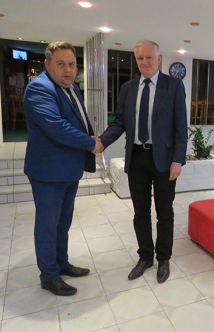 Wójt gminy Ełk Tomasz Osewski to zaufany człowiek wicepremiera Jarosława Gowina