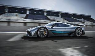 Mercedes-AMG Project One - samochód Formuły 1 na publiczne drogi