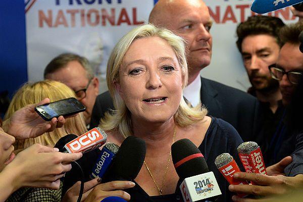 Szefowa Frontu Narodowego Marine Le Pen