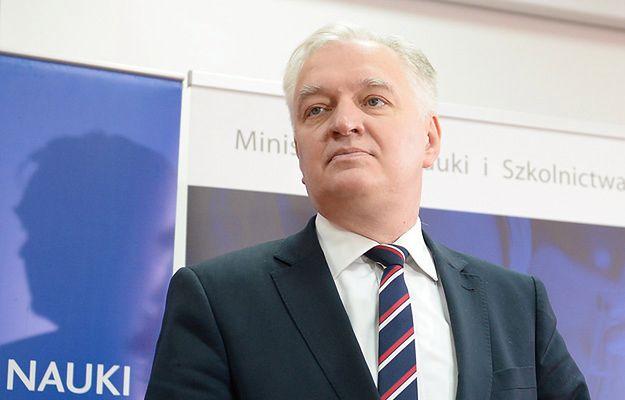 Jarosław Gowin: opozycja podażą drogą w ślepą uliczkę