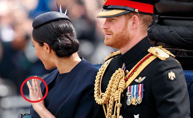 Meghan Markle została upomniana za to, co zrobiła z pierścionkiem zaręczynowym