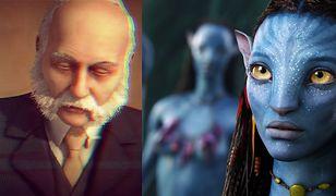 """Po lewej - awatar wykreowany przez Digital Emotions. Po prawej - kadr z filmu """"Avatar"""""""