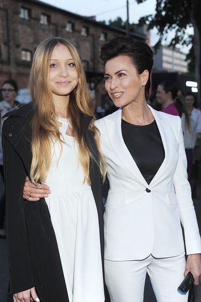 Danuta Stenka z córką Wiktorią