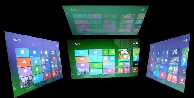 Acer Aspire V5-573PG - ekran pod różnymi kątami