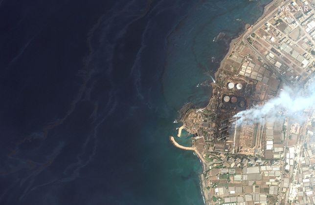 Wyciek ropy z syryjskiej fabryki może dziś dotrzeć do Cypru