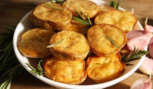 Pieczone ziemniaki z kminkiem