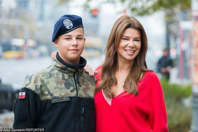 Edyta Górniak i jej syn są ze sobą bardzo blisko