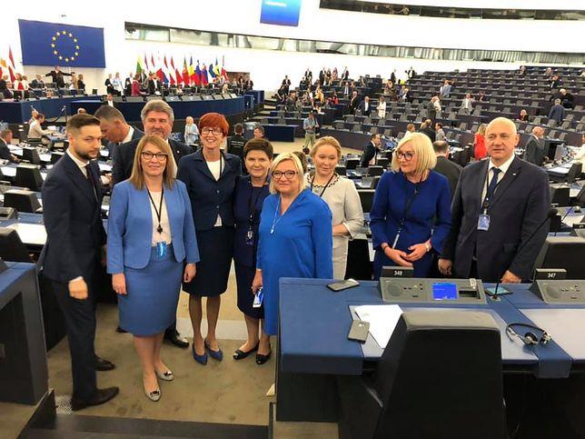 W majowych wyborach do PE politycy PiS zdobyli 27 mandatów