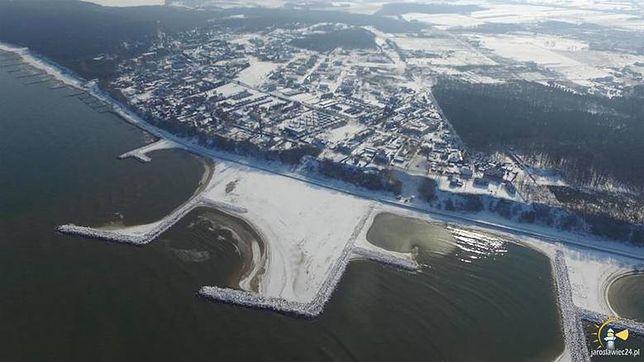 Sztuczna plaża w Jarosławcu. Wyjątkowa na skalę Europy