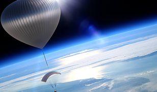 Ekscytująca podróż balonem w kosmos