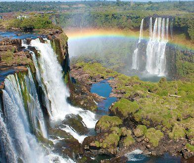 Najpiękniejsze wodospady świata. Gdzie można je zobaczyć? Na zdjęciu wodospad Iguazu