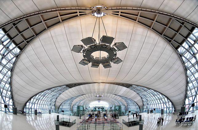 Terminal lotniska Bangkok-Suvarnabhumi