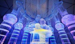 Tatrzańska Świątynia Lodowa. Imponująca atrakcja powstała z 1440 brył lodu