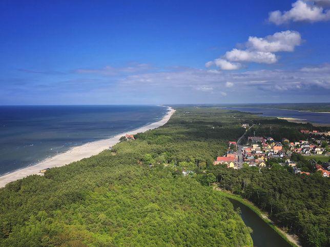 Łeba zachwyca kilometrami plaż