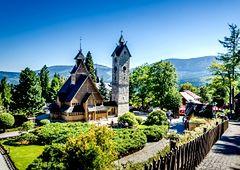 Karpacz - jedna z najpopularniejszych miejscowości w polskich górach