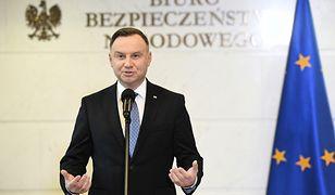 Koronawirus z Chin. Prezydent Andrzej Duda chce pilnego zwołania posiedzenia Sejmu